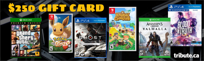 $250 GAMING GIFT CARD Contest