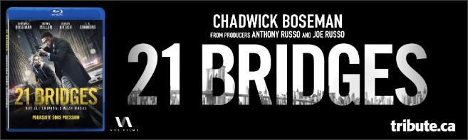 21 BRIDGES Blu-ray contest