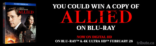Allied Blu-ray Pack contest