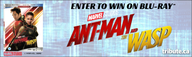 ANT-MAN AND THE WASP Blu-ray contest