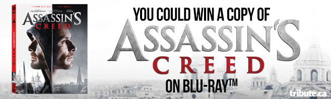 Assassins Creed Blu-ray Pack contest