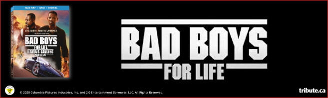BAD BOYS FOR LIFE Blu-ray & Prize Pack contest