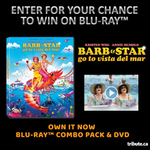 BARB & STAR GO TO VISTA DEL MAR Blu-ray Contest