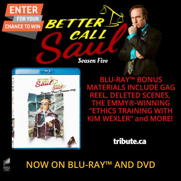 BETTER CALL SAUL Season 5 Blu-ray Contest