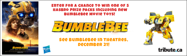 BUMBLEBEE HASBRO PRIZE PACK contest