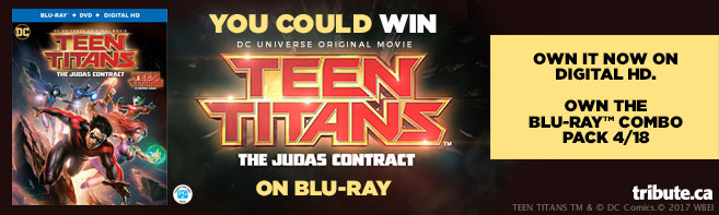 DCU Teen Titans The Judas Contract Blu-ray contest