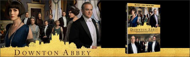 DOWNTON ABBEY Blu-ray contest