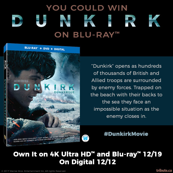 Dunkirk Blu-ray contest