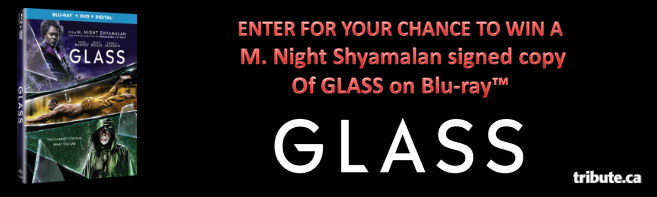 GLASS Blu-ray signed by M. Night Shyamalan contest