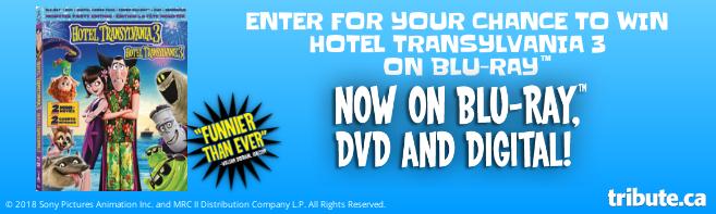 HOTEL TRANSYLVANIA 3 Blu-ray contest