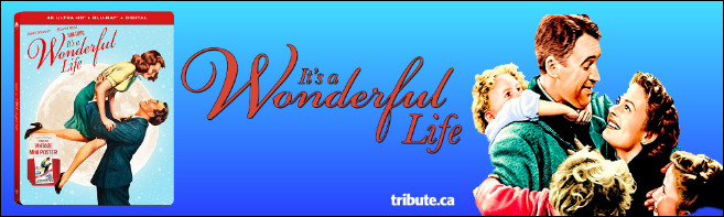 IT'S A WONDERFUL LIFE 4K UHD/Blu-ray Steelbook Contest