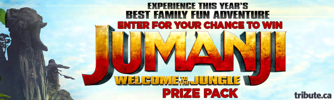 Jumanji Welcome To The Jungle Blu-ray contest