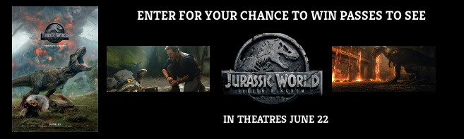 Jurassic World Fallen Kingdom Pass contest