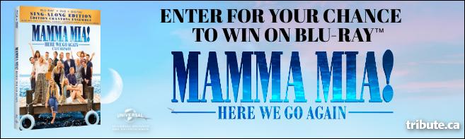 MAMMA MIA! HERE WE GO AGAIN Blu-ray contest