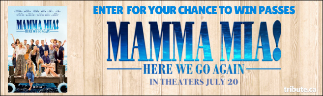 MAMMA MIA! HERE WE GO AGAIN Pass contest