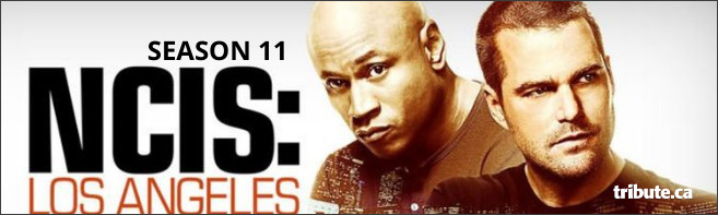 NCIS: LOS ANGELES: THE ELEVENTH SEASON DVD Contest