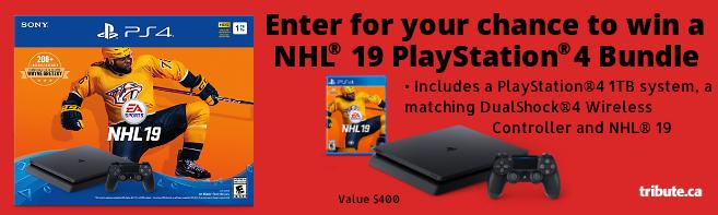 NHL 19 PlayStation 4 Bundle contest