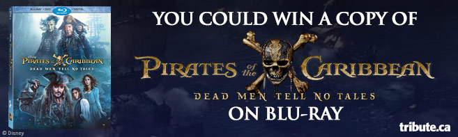 Pirates of the Caribbean Dead Men Tell No Tales Blu-ray contest