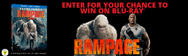Rampage Blu-ray contest
