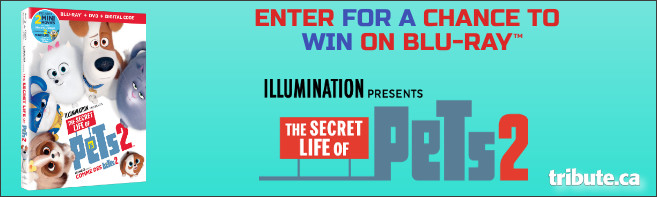 SECRET LIFE OF PETS 2 Blu-ray contest