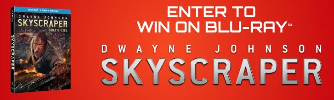 SKYSCRAPER Blu-ray contest