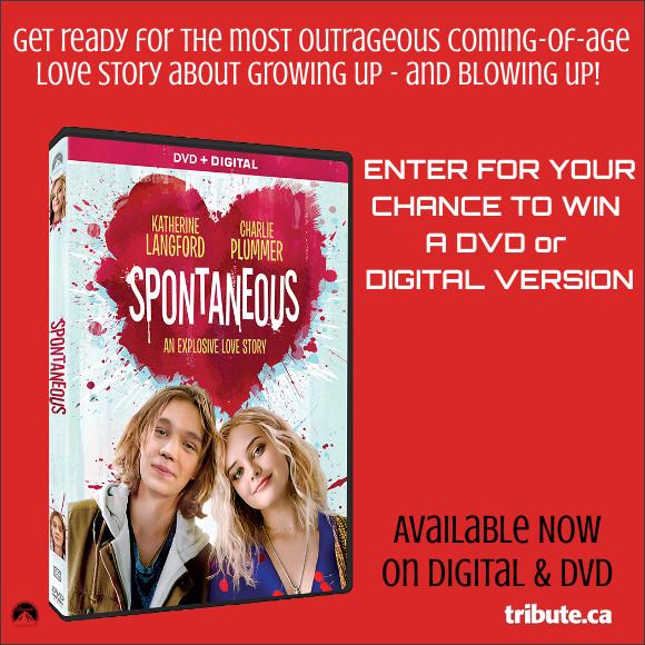 SPONTANEOUS DVD & DIGITAL COPY Contest