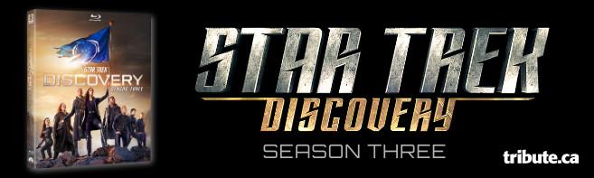 STAR TREK DISCOVERY Season 3 Blu-ray Contest