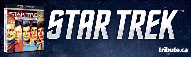 STAR TREK: THE ORIGINAL 4-MOVIE COLLECTION on 4K Ultra HD Contest