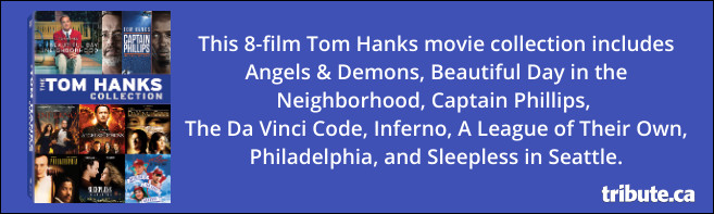 The Eight Movie Collection of TOM HANKS on DVD Contest