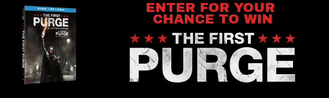 THE FIRST PURGE Blu-ray contest