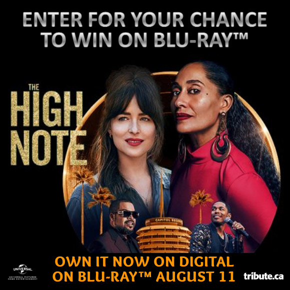 THE HIGH NOTE Blu-ray Contest