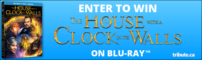 THE HOUSE WITH A CLOCK IN ITS WALLS Blu-ray contest