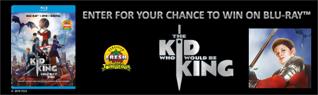 THE KID WHO WOULD BE KING Blu-ray contest