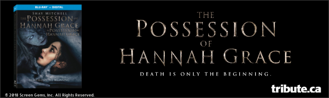 THE POSSESSION OF HANNAH GRACE Blu-ray contest