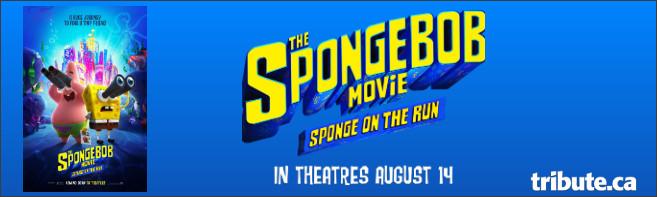 THE SPONGEBOB MOVIE: SPONGE ON THE RUN Prize Pack Contest