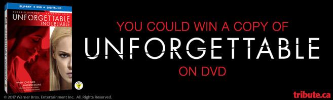 Unforgettable DVD contest