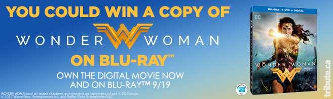 Wonder Woman Blu-ray contest