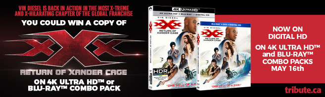 xXx Return of Xander Cage 4K and Blu-ray contest