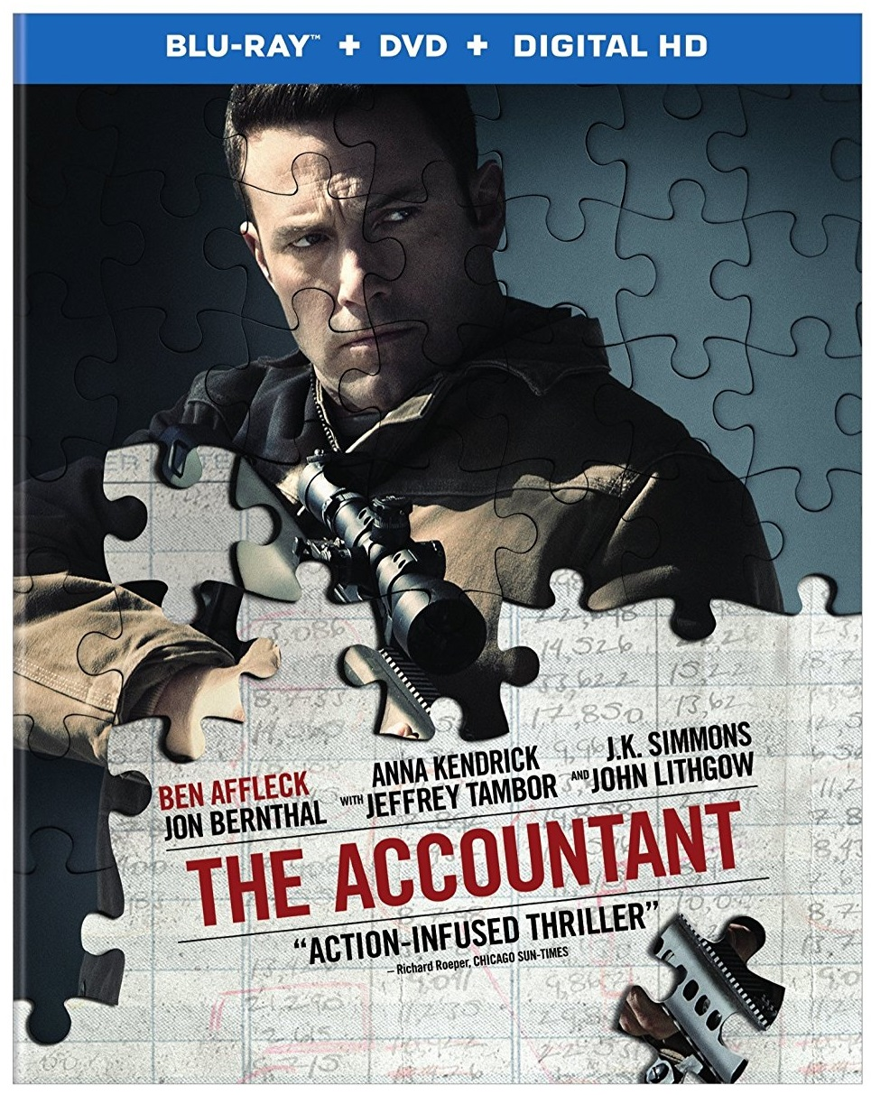 The Accountant out on DVD and Blu-ray
