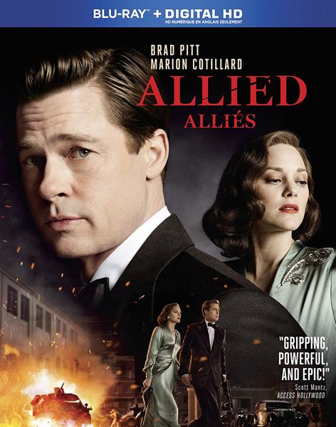 Allied Blu-ray