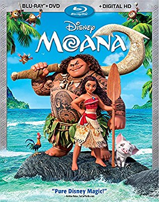 Moana new on DVD/Blu-ray