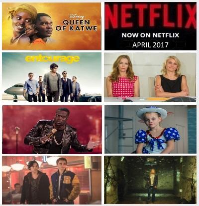 Now on Netflix - April 2017