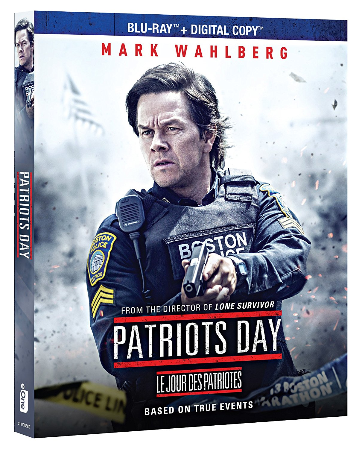 Patriots Day on Blu-ray