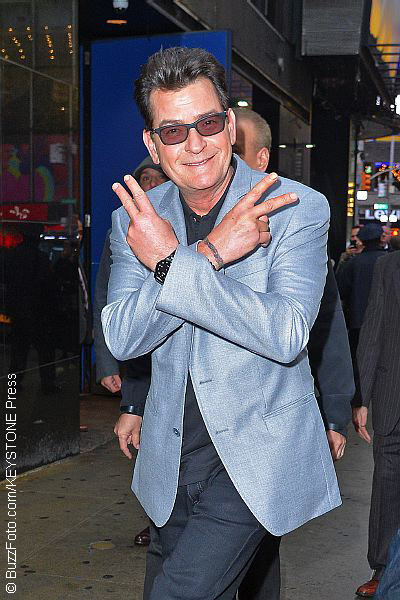 Charlie Sheen claims to know which stars are HIV-positive