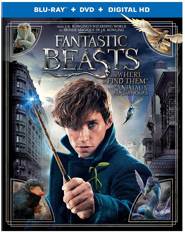 Fantastic Beasts on Blu-ray/DVD
