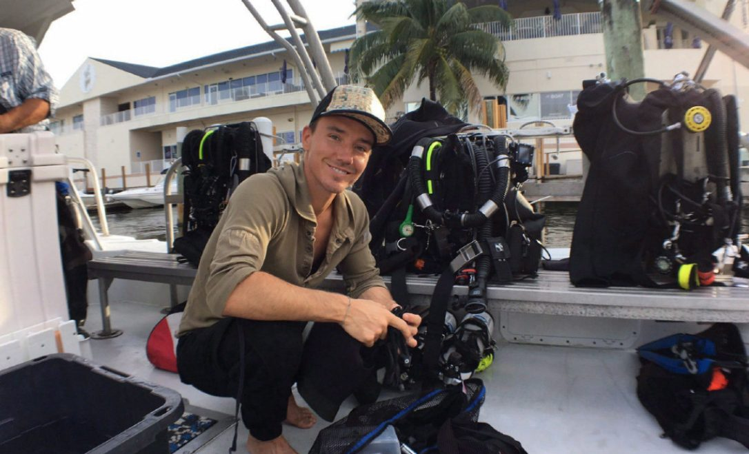 Award-winning filmmaker Rob Stewart