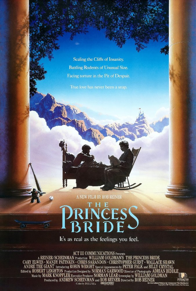 The Princess Bride leaving Netflix