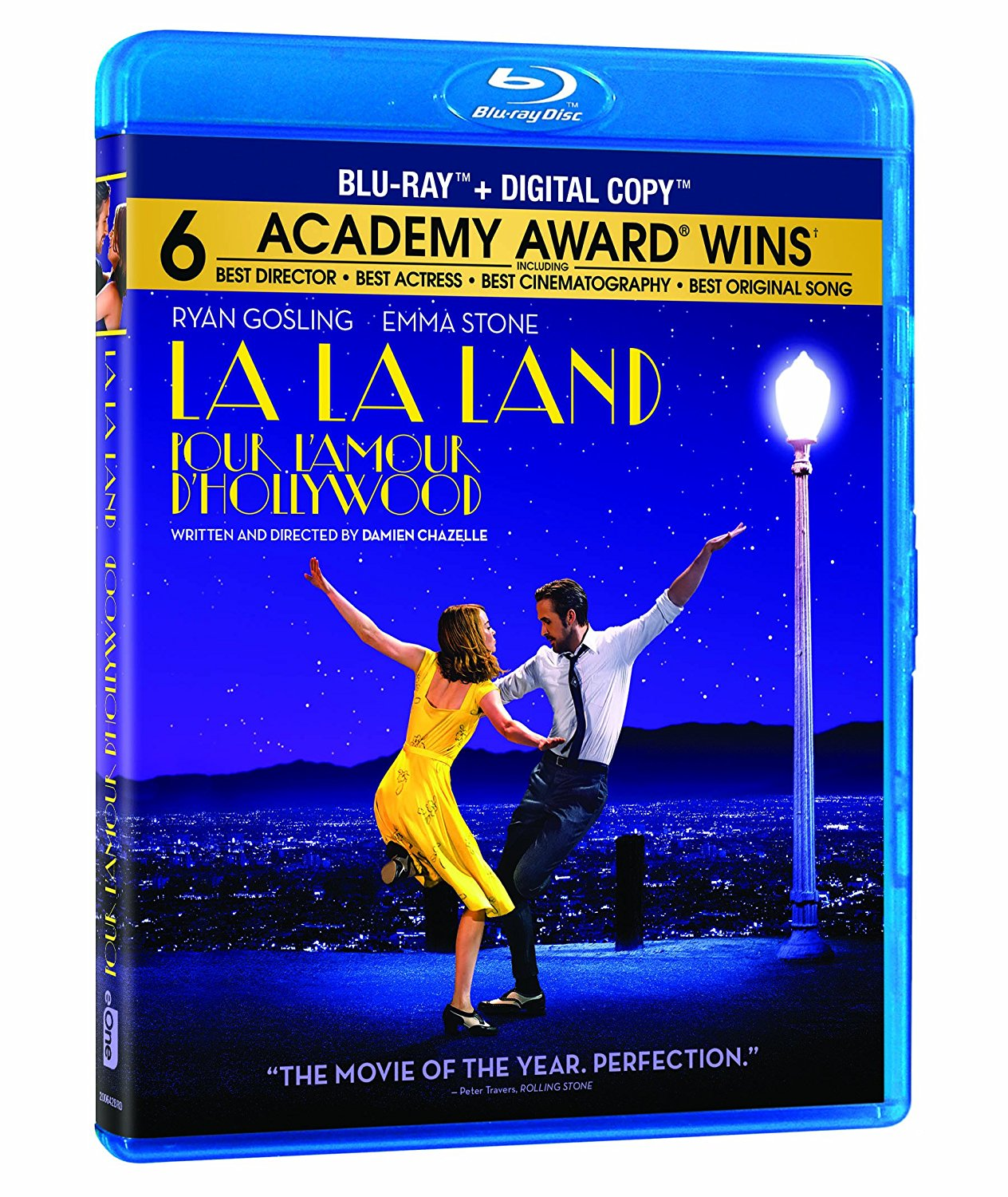 La La Land now available on DVD.