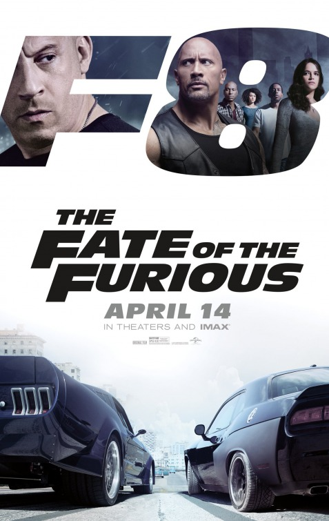 The Fate of the Furious new in theaters