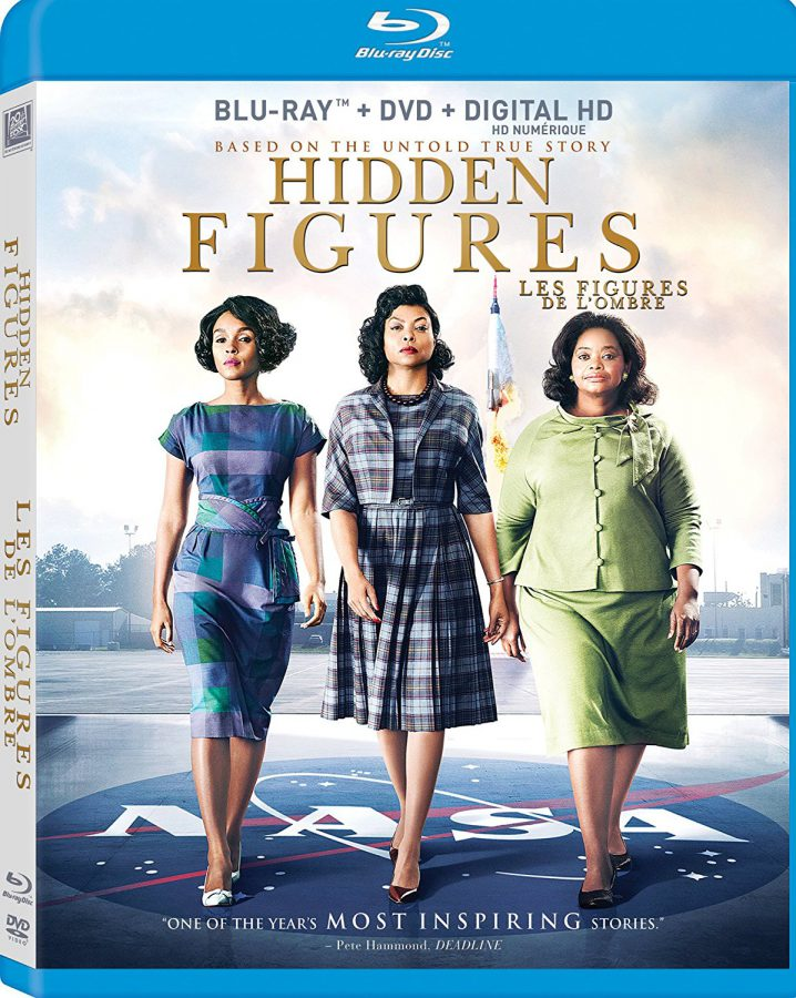 Hidden Figures new on DVD
